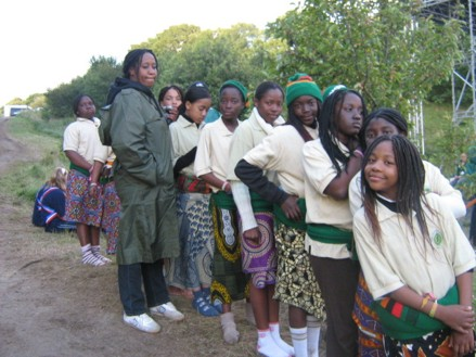Preparing-to-perform-a-Zambian-Dance-at-the-Jamboree