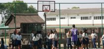 New Basketball/Tennis Court Proves a Hit