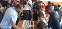 Swedish Chess Grand Master Visits RPS